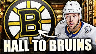 TAYLOR HALL TO BOSTON BRUINS FOR SMALL RETURN (BUFFALO SABRES TRADE FOR ANDERS BJORK, 2ND RD PICK)
