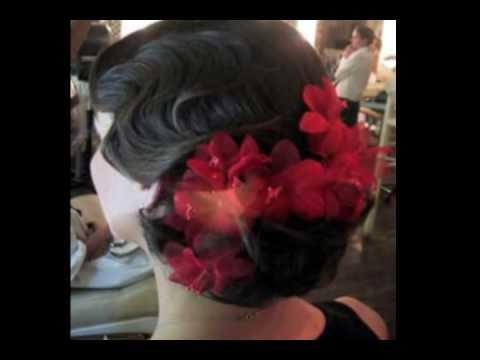 Completamente imperfecto peinados andaluces Colección De Tutoriales De Color De Pelo - PEINADOS DE MOÑO BAJO - YouTube