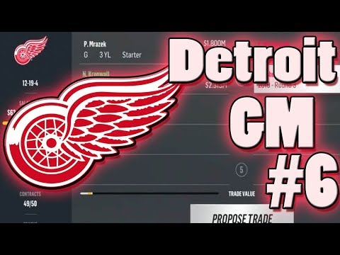 NHL 18 Franchise #6 l Can We Trade Dead Weight? l Detroit Red Wings
