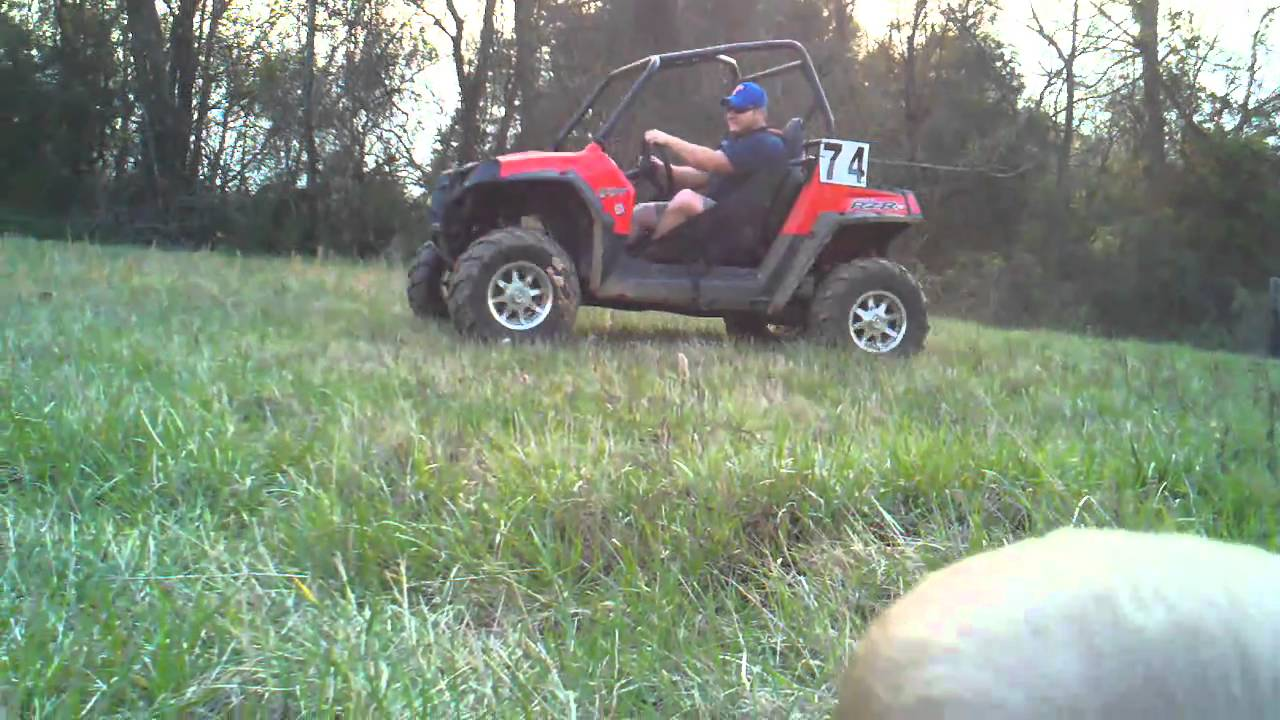 2011 Rzr-S jump bottomed out Before Elka Stage 4 shocks
