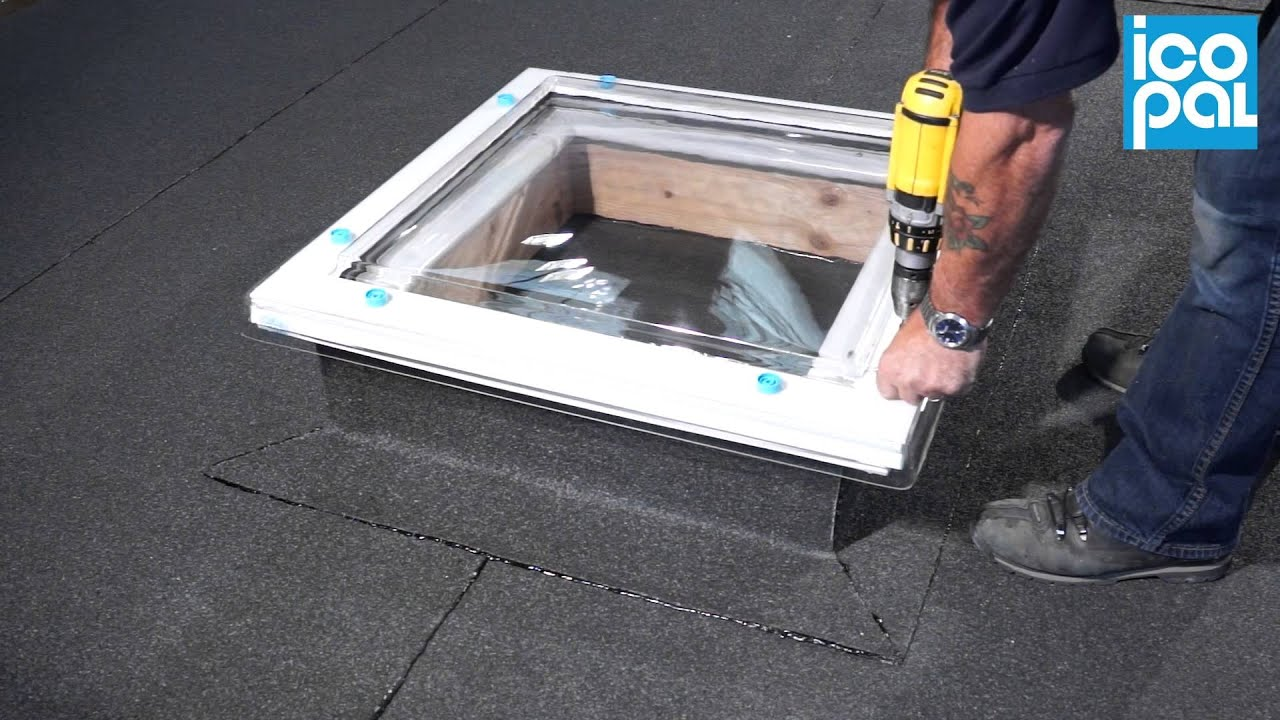 Icopal dalite rooflight extension frame installation youtube icopal dalite rooflight extension frame installation ppazfo