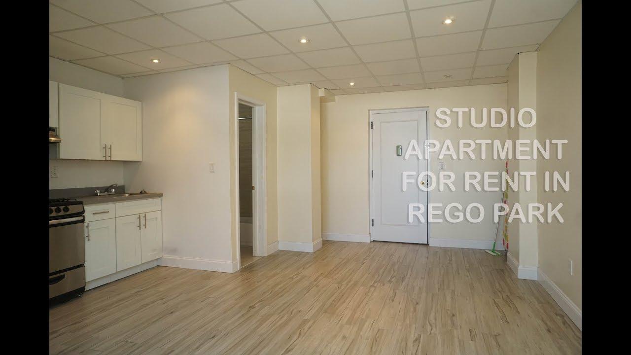 Studio Apartment Queens Nyc studio apartment for rent in rego park, queens, nyc - youtube