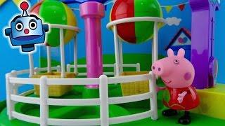 Peppa Pig Paseo en Globo Theme Park Balloon Ride - Juguetes de Peppa Pig
