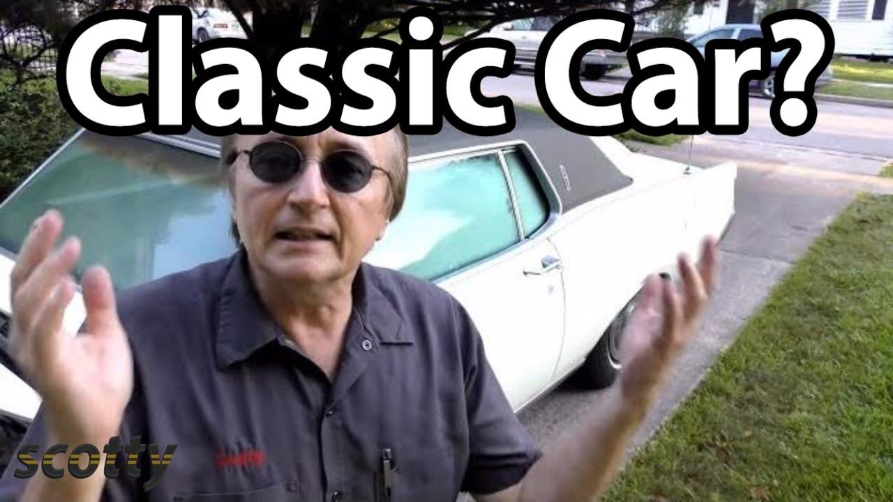 Should You Buy A Classic Car?  Scotty Kilmer
