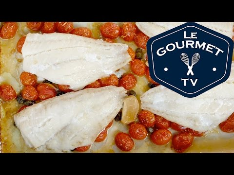 Baked Fish Fillets With Tomatoes - Recipe - LeGourmetTV