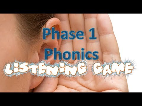 Listening Game | Phase 1 Phonics | Listening and Attention Skills | Jolly Phonics |Letters & sounds from YouTube · Duration:  9 minutes 44 seconds