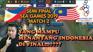 SG LOWER BRACKET FINAL MY VS PH MATCH 2, SIAPA YANG SANGGUP MELAWAN INDONESIA?