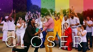 #LoveWins BEST GAY SURPRISE LIPDUB PROPOSAL (w/ Twerking Marching Band)
