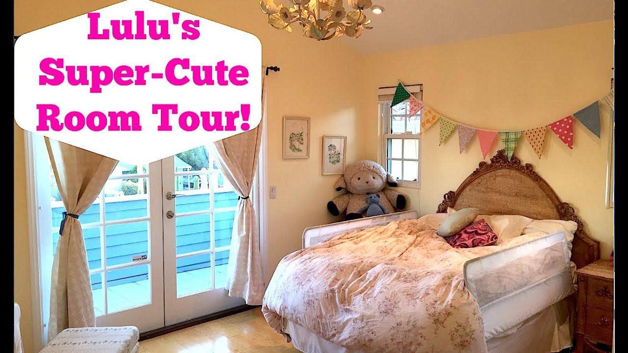 Lulu\'s Super-Cute, Girly Room Tour! - YouTube