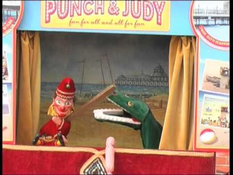 Glyn Edwards Brighton Beach Punch & Judy Show