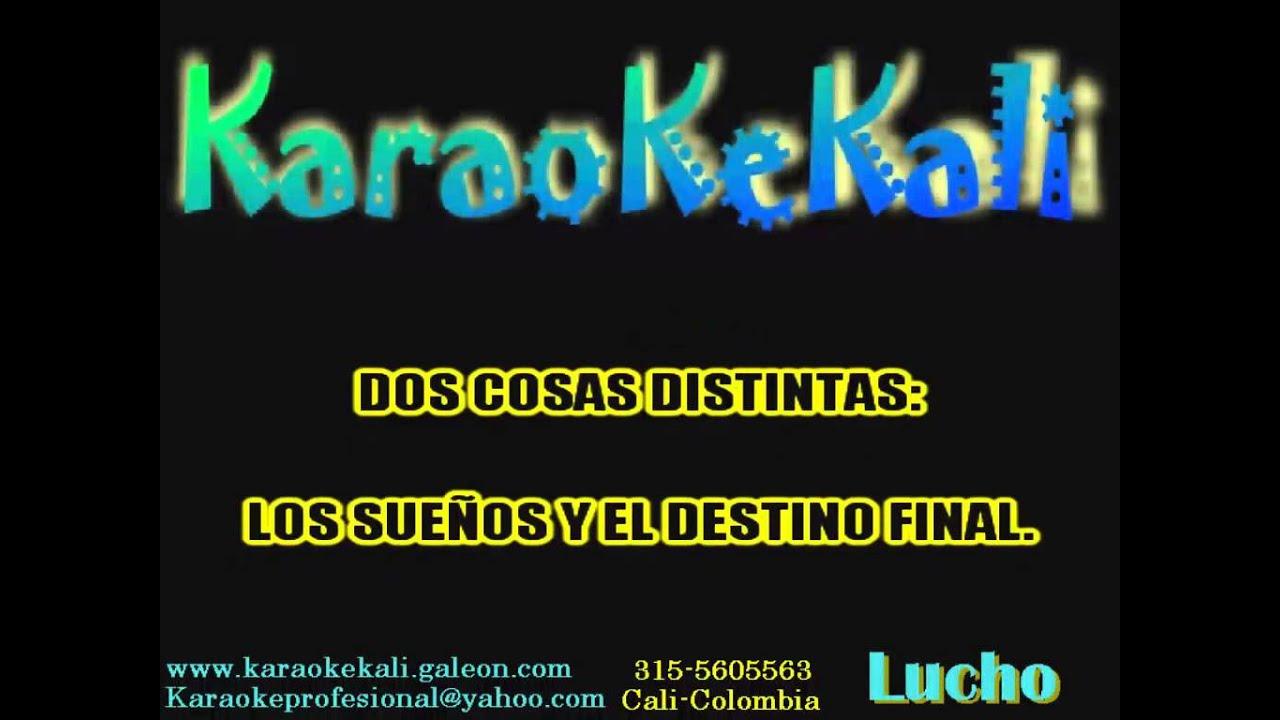 Karaoke enanitos verdes (el guerrero) - YouTube