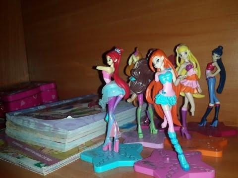моя коллекция кукол всех винкс любовикс