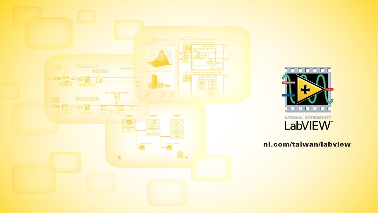 How to download, install and start a simple LabVIEW project