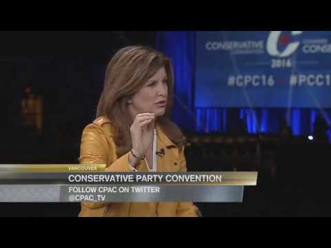 2016 Conservative Convention – Interview with Rona Ambrose