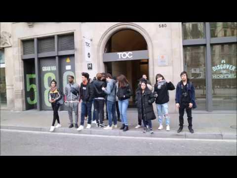 Barcelona Student Trip Ravensbourne 2018
