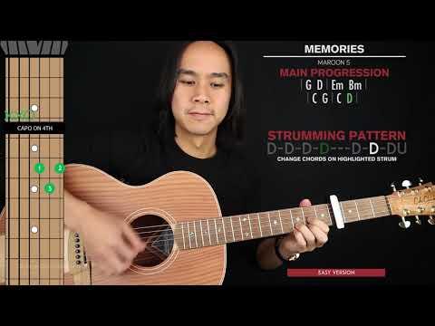 memories-guitar-cover-maroon-5-🎸|tabs-+-chords|