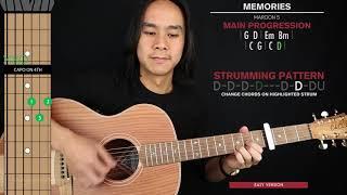 memories-guitar-cover-maroon-5-tabs-chords