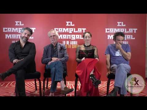 """""""El Complot Mongol"""" - Bárbara Mori, Moises Arizmendi , Damián Alcázar Y Hugo Stiglitz"""