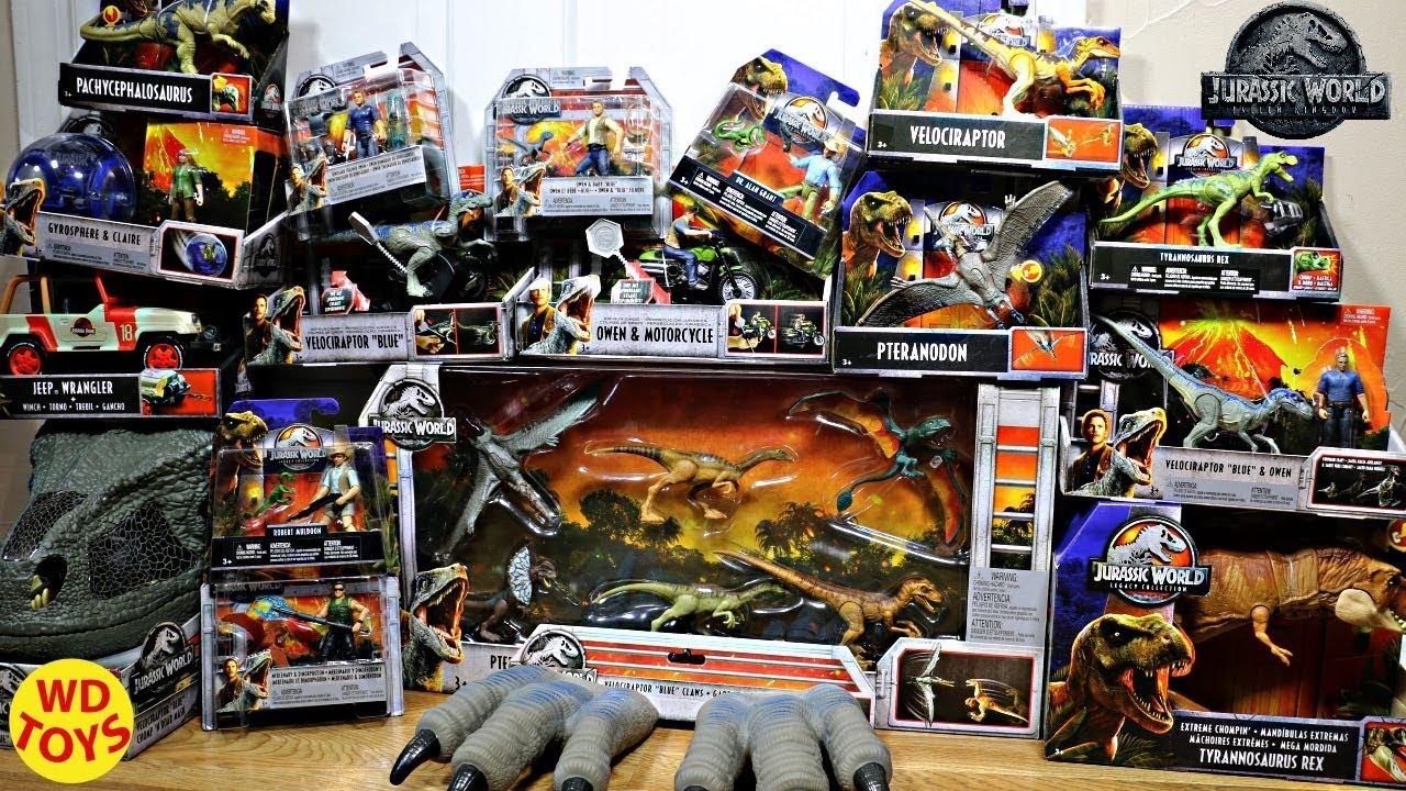 New Jurassic World Fallen Kingdom Legacy Collection Mattel