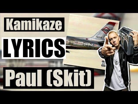 Eminem - Paul (Skit) (Lyrics)