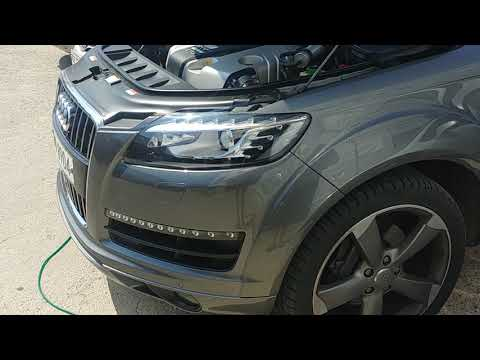 Audi q7 45 tdi brown gas carbon cleaning