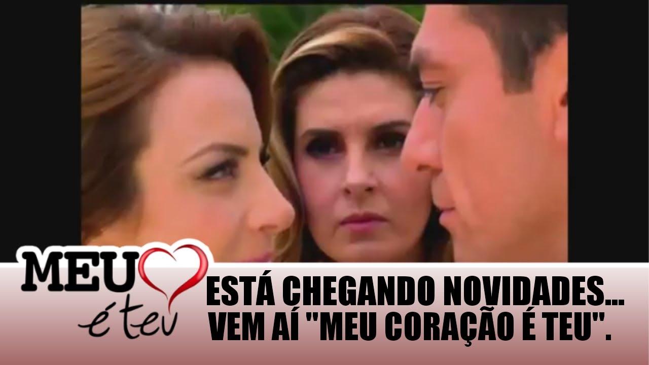 Meu Coraçao é Teu: (Teaser 3) De Estréia Da Novela Meu Coração é Teu (SBT