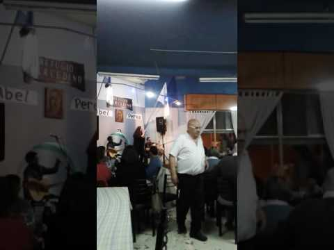 "Yanina Dejoux - Peña en refugio Mercedino"" 09/09/2016"