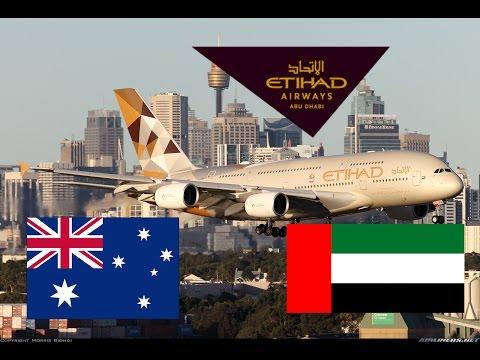 Etihad A380 Sydney (SYD) -Abu Dhabi (AUH) economy flight review