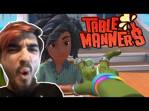 This Game Is So BROKEN   Table Manners: Physics-Based Dating Game   Part 6  