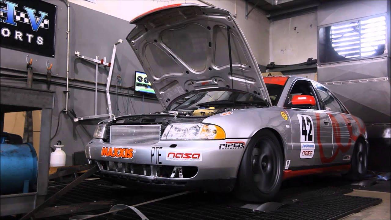 2000 Audi A4 V6 Quattro dyno run - YouTube