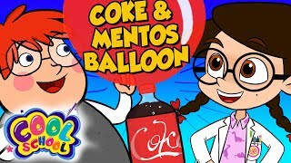 Mentos and Coke Balloon! How To Make the Best Birthday Balloon! | The Nikki Show