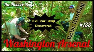 Undocumented Civil War Camp Discovered Metal Detecting | Washington Arsenal
