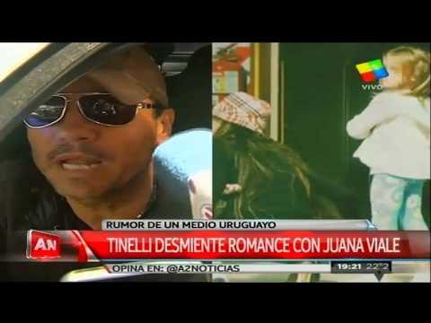 Tinelli desmiente rumores de relación con Juanita Viale