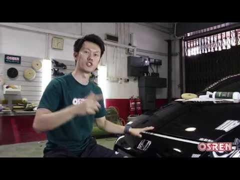 How to polish Honda original paintwork (sticky paint)
