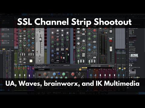 Ssl Channel Strip Shooutout Ssl Plugins From Universal Audio Waves Brainworx And Ik Multimedia Youtube