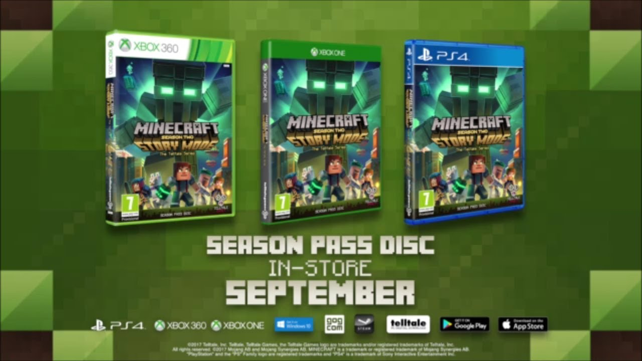 Minecraft Story Mode Season Two Trailer Youtube