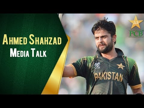 Ahmed Shahzad Media Talk in Eden Park, Auckland | PCB | Sports Central