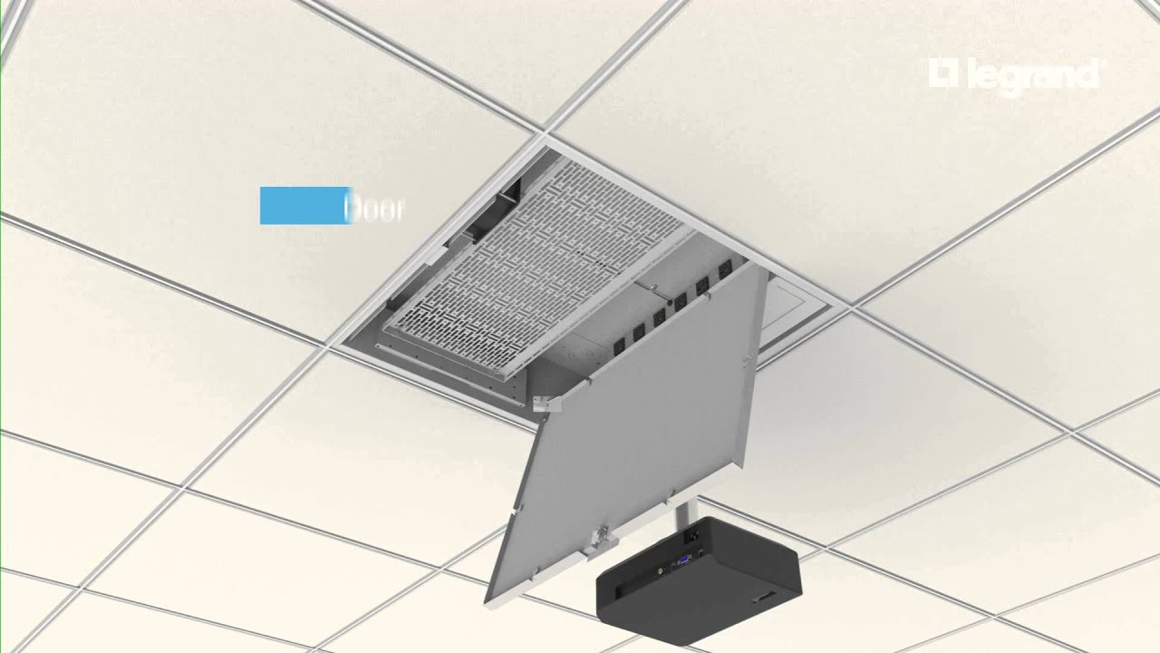 Wiremold Evolution Ceiling Box Removable Door Youtube