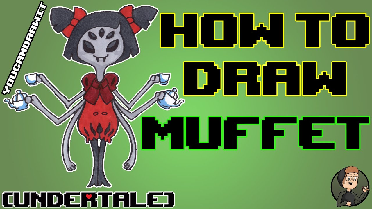 How To Draw Muffet From Undertale Youcandrawit ツ 1080p Hd