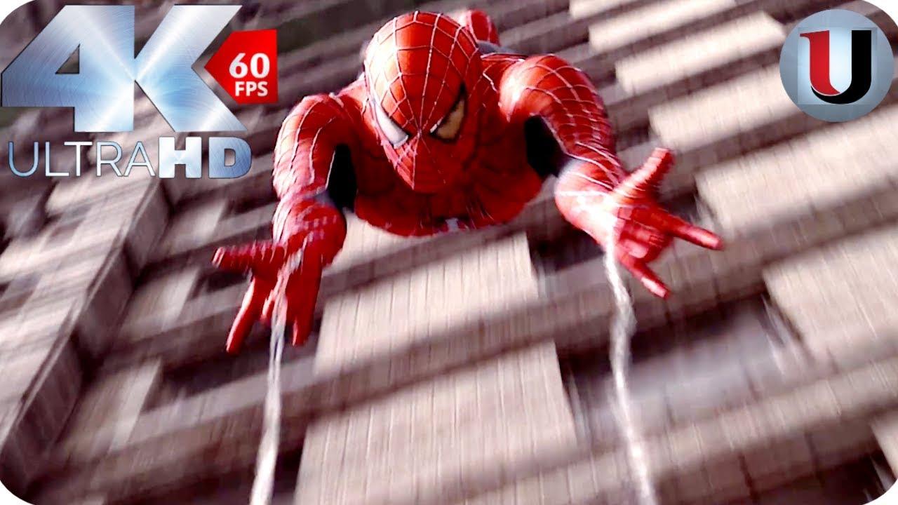 Download Spider Man vs Dr Octopus Bank Fight - Spider Man 2 - 2004 MOVIE CLIP (4K HD)