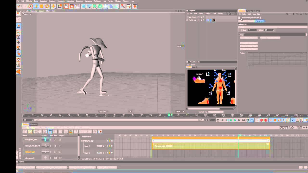 motion clip tutorial? - ANIMATION IMPORT / EXPORT (MIXAMO