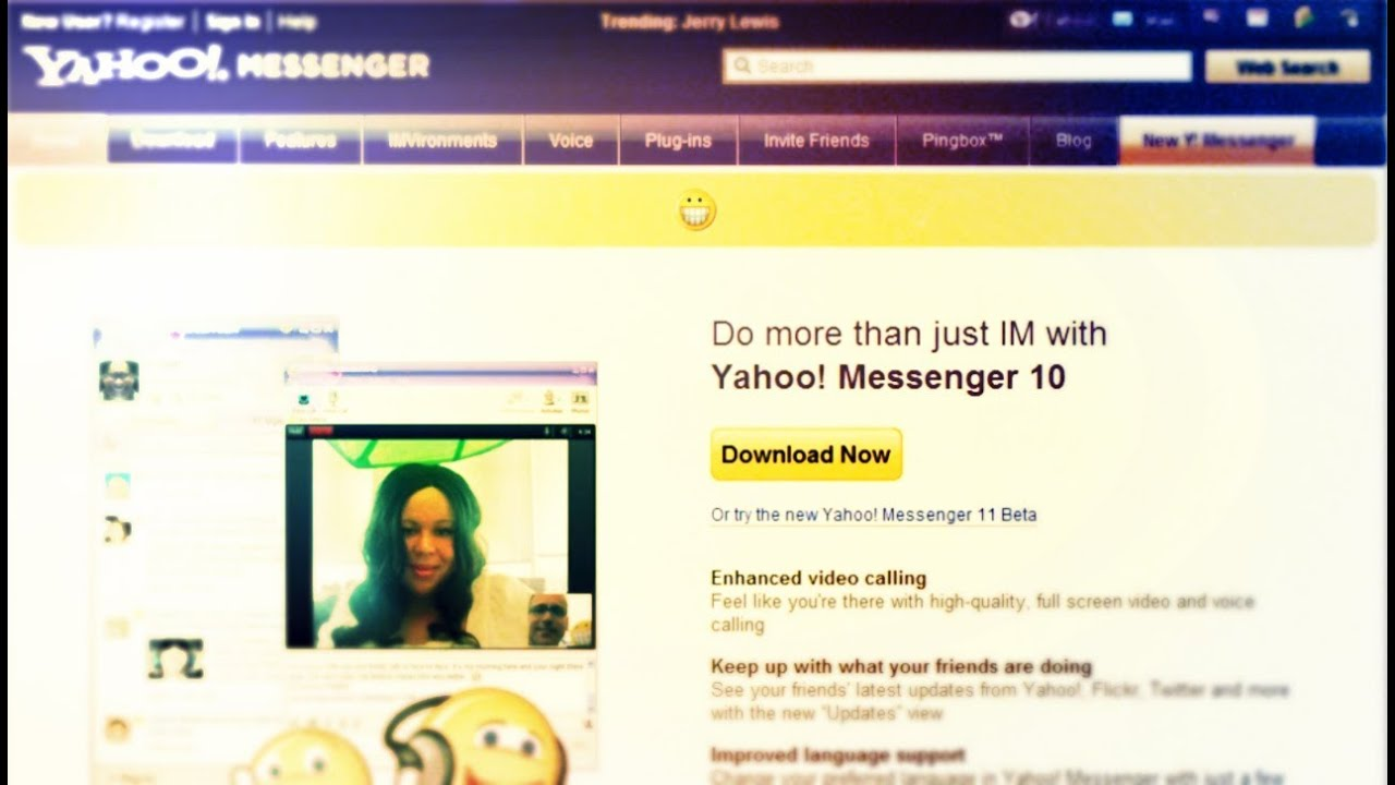 How to Install and Use Yahoo! Messenger - YouTube