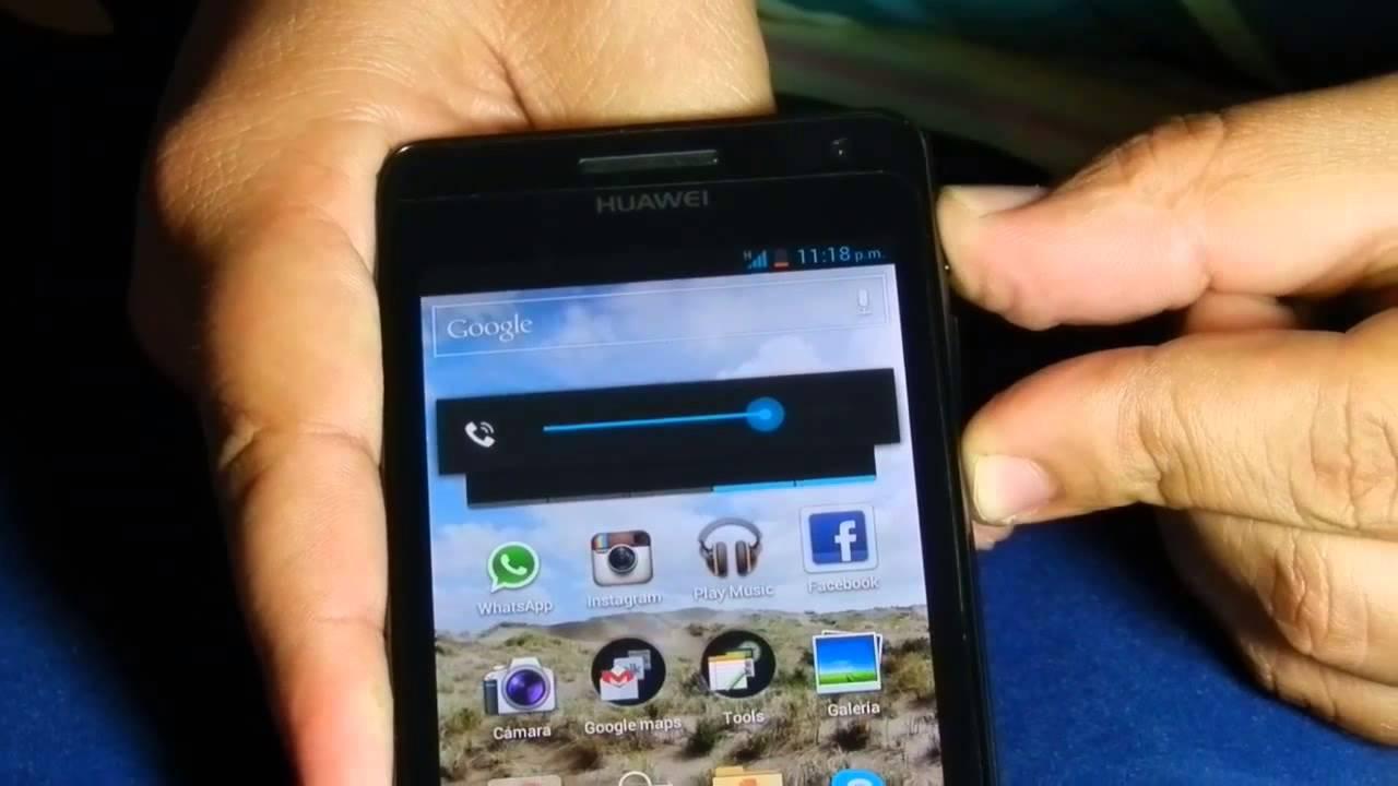Como Hacer Captura De Pantalla En Un Huawei Ascend G600