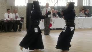 Kenjutsu Shiai Osaka Japan