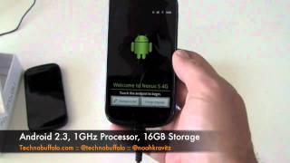 Samsung Nexus S 4G Unboxing