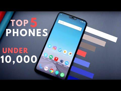 Best Smartphone Under 10000 In February 2020 | Top 5 Phones Under 10000 | Best Phone Under 10000