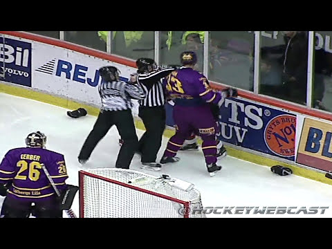 Zdeno Chara vs Dan Hinote - March 12, 2005 (HD)