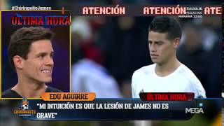 ÚLTIMA HORA sobre la LESIÓN DE JAMES con Edu Aguirre