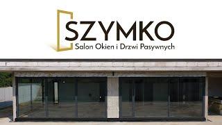 SZYMKO Prawidłowy, szczelny montaż okien aluminiowych wraz z systemem przesuwnym HS.