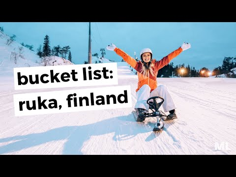 HOW TO SEE RUKA, FINLAND IN A WEEKEND || travel vlog
